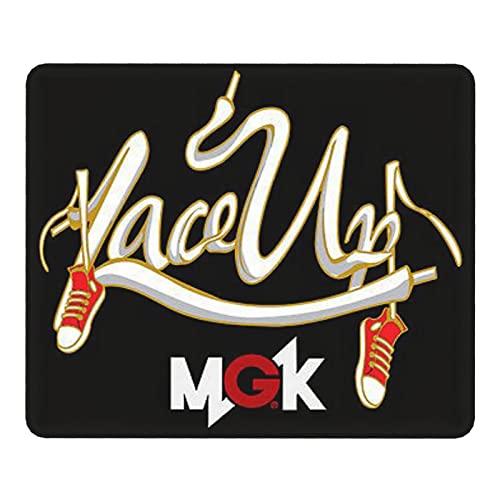 MGK Ma-Chin-e G-un Ke-lly Mouse Pad, Stitched Edges Gaming Mousepad Large, Anti-Slip Rubber Base Computer Keyboard Pad Mat, 9.8 x 11.8 in