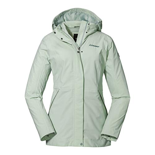 Schöffel Damen Jacket Eastleigh L winddichte, sea foam, 44