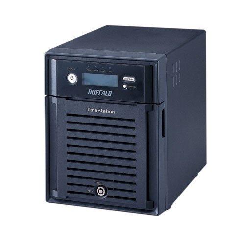 Buffalo Terastation III TS-X8.0TL/R5 4x2TB NAS-System ((8,9 cm (3,5 Zoll), 4-Bay, SATA, Ethernet, Raid) schwarz
