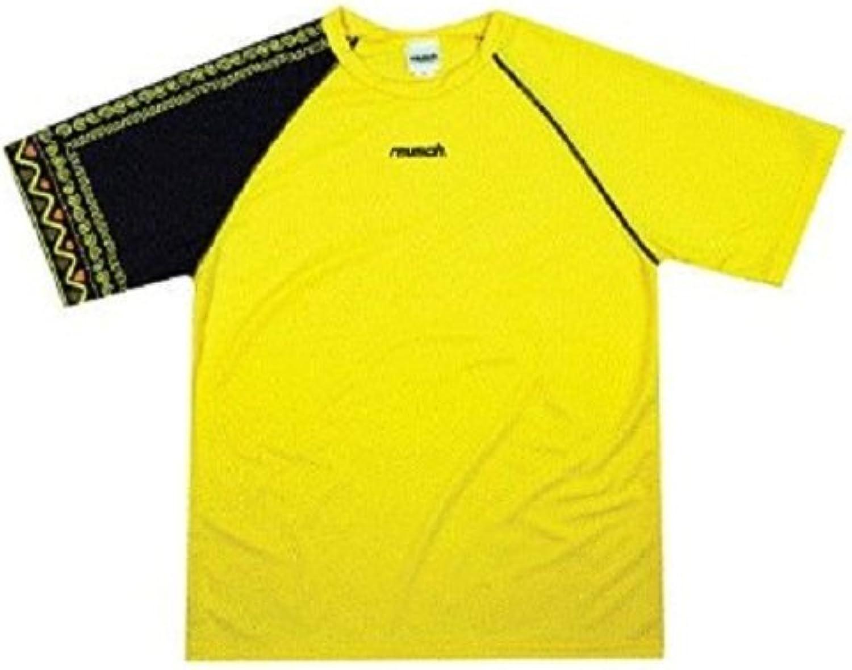 Olympus Aztec Short Sleeve Goalkeeper Jersey, Adult XLarge, Canary Yellow Black