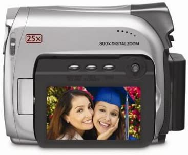 Canon ZR600 MiniDV Camcorder Popular popular with Optical 25x Zoom Discontinued Attention brand