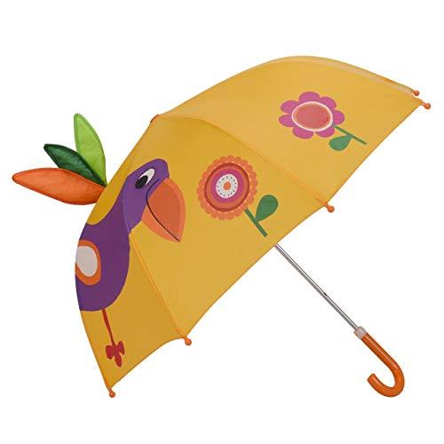 Micaddy Pop-Up-Regenschirm für Kinder, mit Sicherheits-Öffnungs- und Schließfunktion, Alter 3–7 Jahre