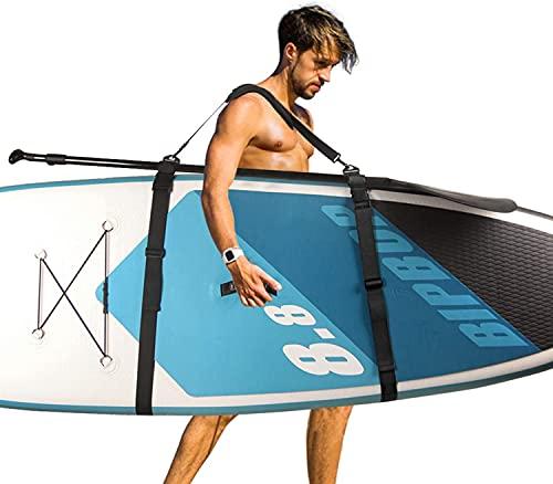Correa de Transporte para Kayak, Correa Ajustable de Nailon para Tabla de Surf de Alta Resistencia Resistente a la Corrosión, se Adapta a Varios Tamaños