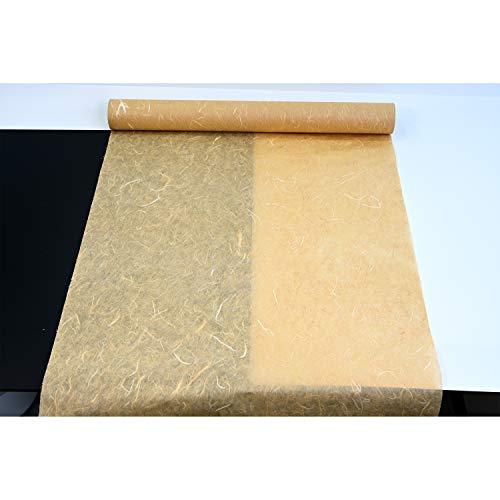 naraon Hanji traditionellem koreanischen Mulberry Papier Hanji Rolle Natur Faser Textur 54,1x 2.000cm, Mud Yellow, 21.3