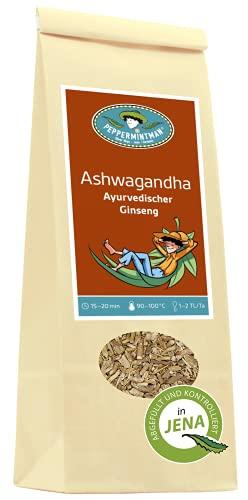 Ashwagandha – Indischer Ginseng - 60g, 120g, 400g, Papiertüte, PEPPERMINTMAN (120g)