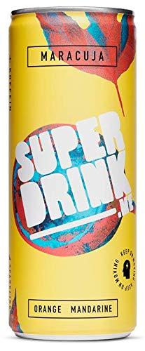 SUPERDRINK - KEEP ON MOVING - Maracuja - 24er Palette, EINWEG (24 x 250 ml)