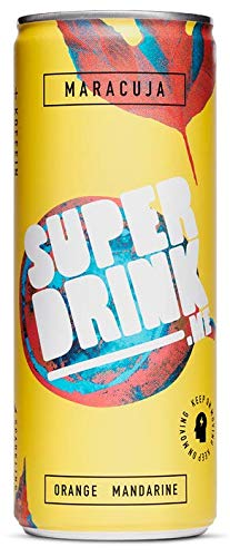 SUPERDRINK - KEEP ON MOVING - Maracuja - 24er Palette, EINWEG (24 x 250 ml)