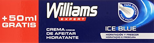 Williams Expert - Ice Blue - Crema de afeitar hidratante -
