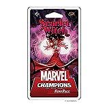 Fantasy Flight Games Marvel Champions: El Juego de Cartas – Scarlet Witch, expansión de héroes, construcción de baraja Alemana, FFGD2914, Multicolor, expansión de héroes