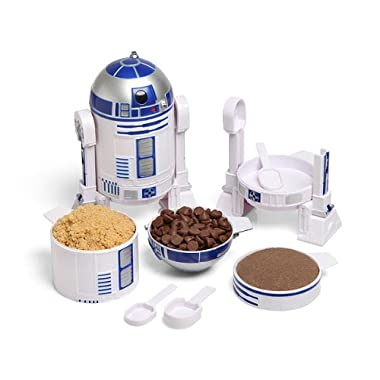 ThinkGeek Star Wars R2-D2 Measuring Cup Set - Set of Measuring Cups That Look Like R2-D2 - A Creation and Exclusive