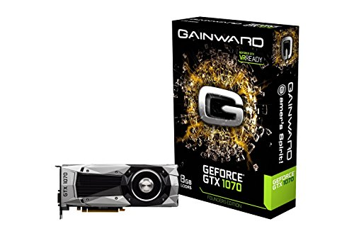 Gainward GeForce GTX 1070 Founders Edition 4000 MHz 3637