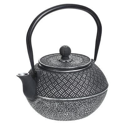 Tetera japonesa de hierro fundido con colador, varios modelos de tetera, también de cerámica, asiática, hierro, cast iron teapot, negro (4 – hierro fundido)