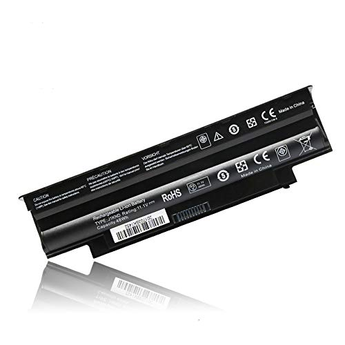 New Replacement J1KND Laptop Battery for Dell Inspiron 14R N4010 N4050 N4110 M4040 15R N5010 N5030 N5040 N5050 N5110 M501 M5040 17R N7010 N7110 Battery fits 04YRJH 4T7JN 9T48V TKV2V YXVK2 Battery