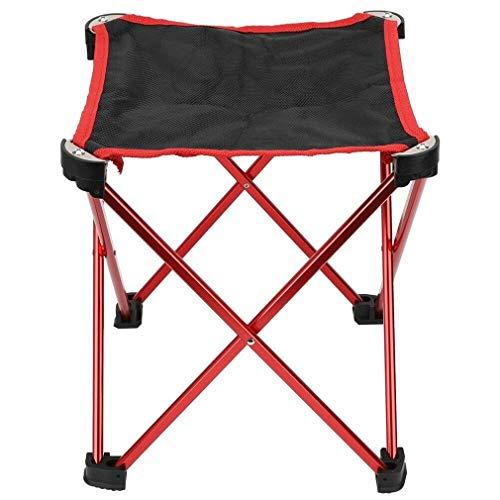 Taburete Plegable portátil de aleación de Aluminio, Bolsa para Silla de Camping...
