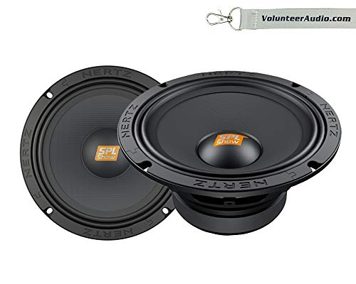 HERTZ SV200.1 SPL Series Midrange 8' 4 Ohm Speakers 500W Peak