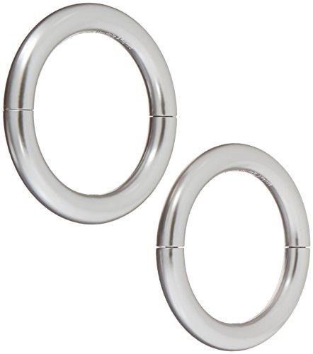 Umbra Halo Magnetic Holdbacks for Curtain Panels, Set of 2, Nickel