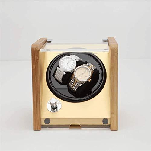 XZJJZ Watch Box - for Automatikuhren, Holz Shell Klavier Außenfarbe, extrem leise Motor, Flexible Uhr Kissen, Geeignet for Damen und Herren (Color : B)