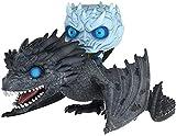 Pop! Juego de Tronos - Riding A Dragon Night King - Muñeca de Juguete Mano de Juguete Modelo de Oficina Adornos-UN