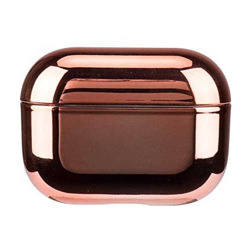 MARIAN Funda de lujo para auriculares compatible con Airpods Pro 2 1 de Apple compatible con Airpods de protección compatible con Air Pods 3, color negro y dorado brillante