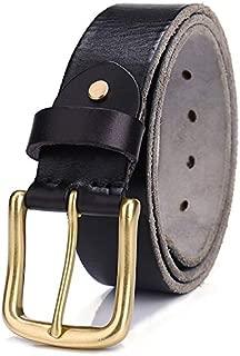 Black 125Cm H-M-STUDIO MenS Belts Jeans Retro Buttons Belts Leisure Tides MenS Trouser Bags