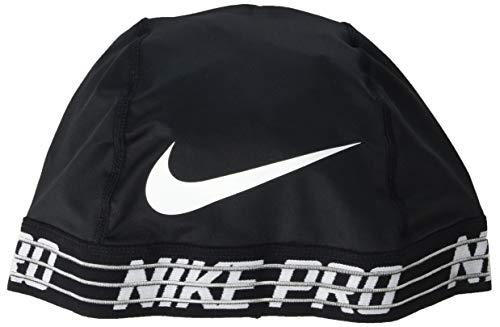 NIKE Pro Skull Cap 2.0,  Black,White, One Size
