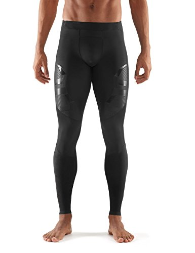 Skins Men's A400 Compression Long Tights, Oblique, Small