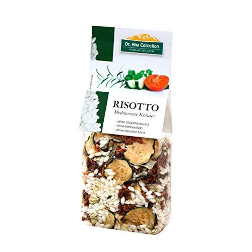 Dr. Ana Collection - Risotto Reis mit Mediterranen Kräutern 200g (1 Beutel) - auch erhältlich als 1 bis 7 Beutel