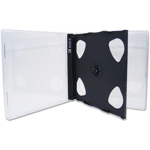 5 Xlayer 3er 3fach DVD CD Hüllen jewelcase