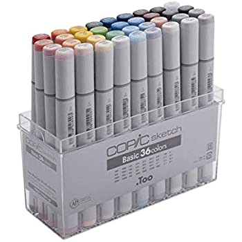 .Too COPIC Ciao Color Comics Markers 72 Colors Set B from Japan Ex-shipping