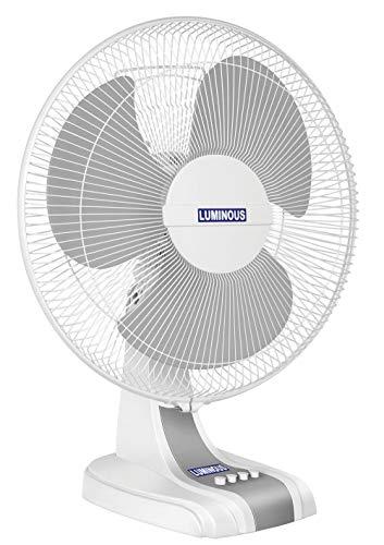 Luminous Mojo Plus Table Fan (400 mm,White)