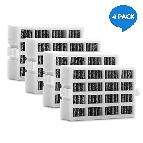 W10311524 4 Pack Air Filter Replacement for Whirlpool Refrigerator 2319308, W10335147, W10335147A, W10335147, W10315189, 1876318, AIR1, AP4538127, AH2580853, EA2580853, PS2580853