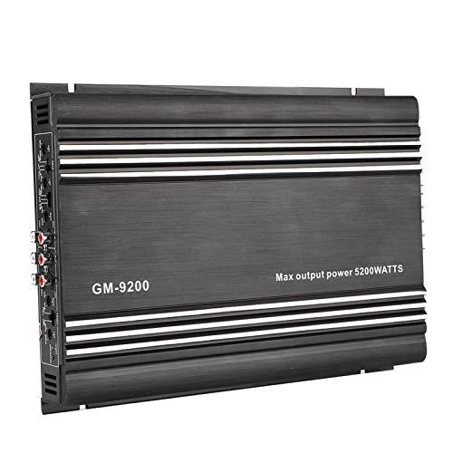 Auto-Stereoanlage Audio-Leistungsverstärker Zubehör Professioneller Booster für Autozubehör
