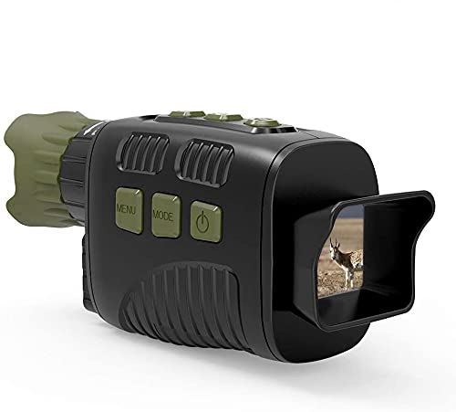 Night Vision Googles, Night Vision Monocular, Long Distance IR Night Vision HD Image 960P Video with 32GB Card for Day and Night Hunting, Camping, Wildlife Observation and Security Monitoring