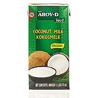 Aroy-D leche de coco 100%, 1 l