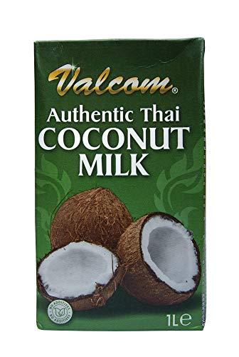 Kokosnussmilch 12 x 1L zum Kochen und Verfeinern - Valcom - Thai Coconut Milk