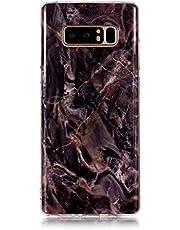 Galaxy Note 8 ケース, OMATENTI マーブル 美しい薄型 柔らかTPU い ケース, 人気 新製品 滑り防止 衝撃吸収 全面保護 バックケース, 耐摩擦 耐汚れ 落下防止 耐衝撃性 Galaxy Note 8 用 Case Cover,パターン-19