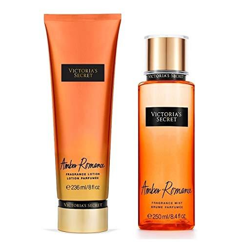 Kit Victoria's Secret Lotion + Splash Amber Romance