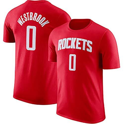 TIEON 13 Cohetes Harden, Baloncesto Ropa Nº 0 Westbrook, Ventiladores de Ropa Deportiva, Uniformes de los Jugadores B-L
