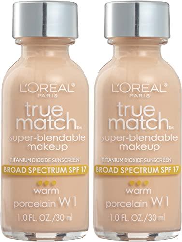 Base Liquida L´oreal True Match Super-blendable Warm - Porcelain W1
