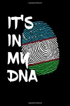 """Its In My Dna: Journal / Notebook / Diary Gift - 6""""x9"""" - 120 pages - White Lined Paper - Matte Cover"""