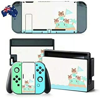 New Horizons Switch Skin Decal for Animal Crossing Full Cover Scratch Protection