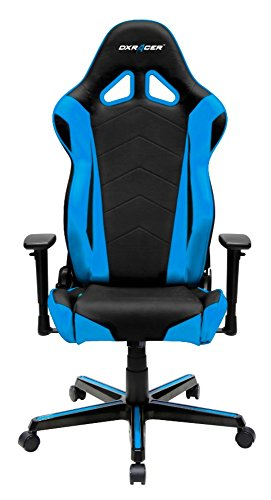 DX Racer Oh/rz0/NB Asiento Gaming Negro/Azul