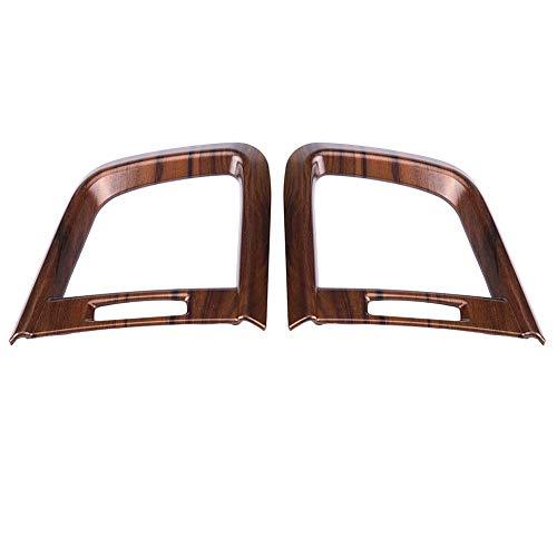 Moldura lateral de salida de aire acondicionado Moldura de cubierta de ventilación de aire acondicionado para arañazos y acumulación de polvo para accesorios de automóvil