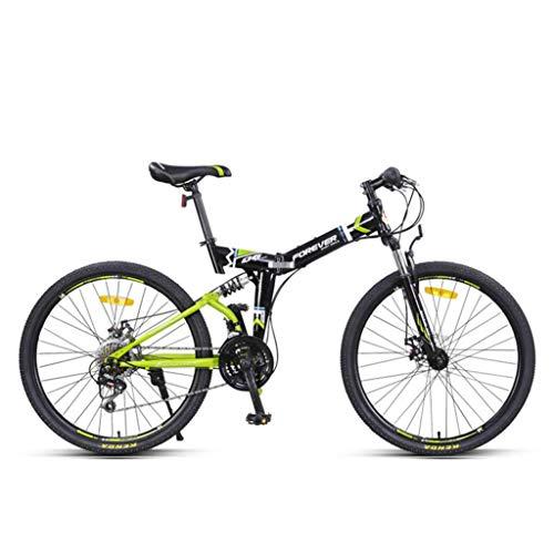 Bdclr Verstelbare zithoogte vouwen dubbele vering 24 speed mountainbike