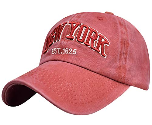 UMIPUBO Gorras de béisbol Deportivas Unisex New York Bordado cómodo Tejido elástico...