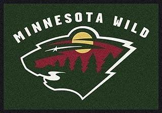 Amazon Com Sports Fan Area Rugs Minnesota Wild Area Rugs Décor Sports Outdoors