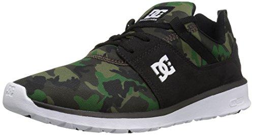 DC Shoes DC Herren Heathrow SE Skateboardschuhe, Schwarz/Camoufalge, 38 EU