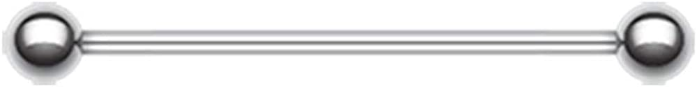 Covet Jewelry Basic Steel Industrial Barbell