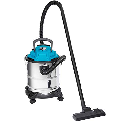 Nitaar Wet and Dry Vacuum Cleaner 20L 1200W With Blower - Ideal For Garage & Workshop Use