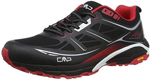 CMP – F.lli Campagnolo Herren HAPSU Nordic Walking Shoe Walkingschuhe, Schwarz (Nero-Malboro 87ue), 43 EU